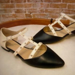 Sole Society T-Strap flats